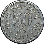 50 Pfennig (Dillingen) [Stadt, Bayern] – obverse