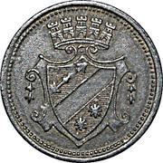 50 Pfennig (Dillingen) [Stadt, Bayern] – reverse
