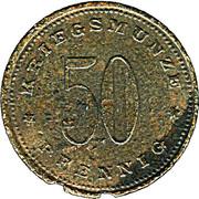 50 Pfennig (Weissenburg) [Stadt, Bayern] – reverse