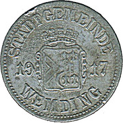 50 Pfennig (Wemding) [Stadt, Bayern] – obverse