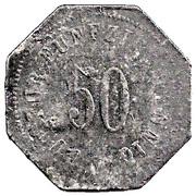 50 Pfennig (Bad Tölz) [Stadtgemeinde, Bayern] – reverse