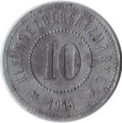 10 Pfennig (Friedrichswerth) [Private, Sachsen-Coburg-Gotha, Eduard Meyer] – reverse