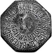 10 Pfennig (Schwandorf) [Private, Bayern, Braunkohlen Industrie] – obverse