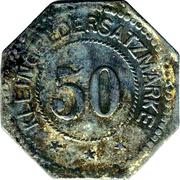 50 Pfennig (Montabaur) [Stadt, Hessen-Nassau] – reverse