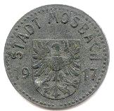 5 Pfennig (Mosbach) [Stadt, Baden] – obverse