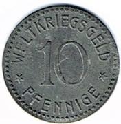 10 Pfennig (Thale am Harz) [Gemeinde, Provinz Sachsen] – reverse