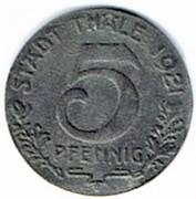 5 Pfennig (Thale am Harz) [Gemeinde, Provinz Sachsen] – obverse