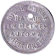 10 Pfennig (Wiesbaden) [Private, Hessen-Nassau, Post- und Bürgerautomat] – reverse