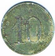10 Pfennig (Stein b. Nbg) [Gemeinde, Bayern] – reverse