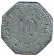 10 Pfennig (Stendal) [Stadt, Provinz Sachsen] – reverse