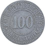 100 Pfennig (Danzig) [POW, Danzig-Troyl] – obverse