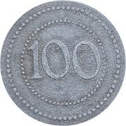 100 Pfennig (Danzig) [POW, Danzig-Troyl] – reverse