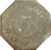 5 Pfennig (Oschersleben) [Stadt, Provinz Sachsen] – reverse
