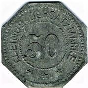 50 Pfennig (Elmshorn) [Private, Schleswig-Holstein, Kredit-Verein] – reverse