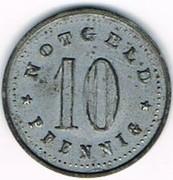 10 Pfennig (Schrobenhausen) [Stadt, Bayern] – reverse