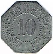 10 Pfennig (Segeberg) [Private, Schleswig-Holstein, Vorschußverein] – obverse