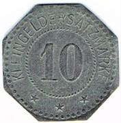 10 Pfennig (Segeberg) [Private, Schleswig-Holstein, Vorschußverein] – reverse