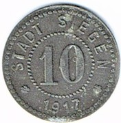 10 Pfennig (Siegen) [Stadt, Westfalen] – obverse