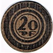 20 Pfennig (Halle) [Strassenbahn, Provinz Sachsen] – reverse