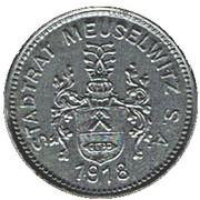 50 Pfennig (Meuselwitz) [Stadt, Sachsen-Anhalt] – obverse