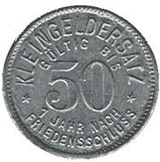 50 Pfennig (Meuselwitz) [Stadt, Sachsen-Anhalt] – reverse