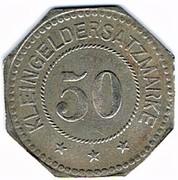 50 Pfennig (Weissenburg)[Stadt, Elsass] – reverse