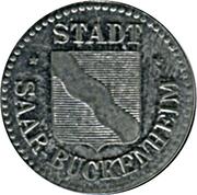 10 Pfennig (Saar-Buckenheim) [Stadt, Lothringen] – obverse