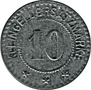 10 Pfennig (Saar-Buckenheim) [Stadt, Lothringen] – reverse