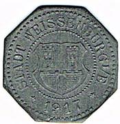 10 Pfennig (Weißenburg) [Stadt, Elsaß] – obverse