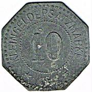 10 Pfennig (Weißenburg) [Stadt, Elsaß] – reverse