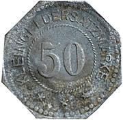 50 Pfennig (Belgern) [Stadt, Provinz Sachsen] -  reverse