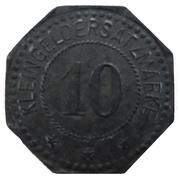 10 Pfennig - Mühlhausen im Elsass (Warenhaus Dreyfus) – reverse