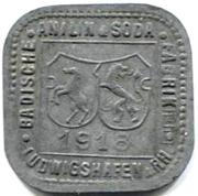 2 Pfennig (Ludwigshafen am Rhein) [Private, Pfalz, BASF] – obverse