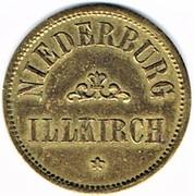 20 Pfennig - Niederburg (Illkirch-graffenstaden) – obverse