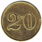 20 Pfennig - Niederburg (Illkirch-graffenstaden) – reverse