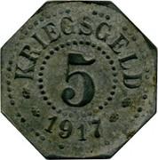 5 Pfennig (Saarburg in Lothringen) [Stadt, Lothringen] – reverse