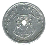 5 Pfennig (Apolda) [Stadt, Sachsen-Weimar-Eisenach] – obverse