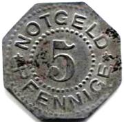5 Pfennig (Heiligenstadt und Worbis) [Kreise, Provinz Sachsen] – reverse