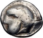 Tetradrachm (Imitation of Tetradrachm of Philip II of Macedon) – obverse