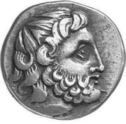 Tetradrachm (Imitation of Tetradrachm of Philip II) – obverse