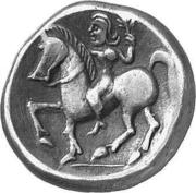 Tetradrachm (Imitation of Tetradrachm of Philip II) – reverse