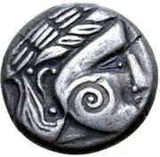 Tetradrachm (Wangenschnecke Type) – obverse