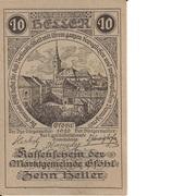 10 Heller (Gföhl) -  obverse
