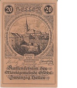 20 Heller (Gföhl) -  obverse