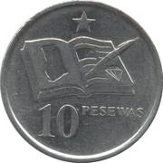 10 Pesewas -  reverse
