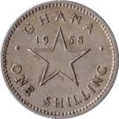 1 Shilling - Elizabeth II – reverse