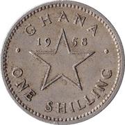 1 Shilling - Elizabeth II -  reverse