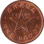 1 Penny - Elizabeth II – reverse