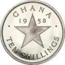 10 Shillings - Elizabeth II (Independence) – reverse