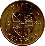 50 Pesewas – reverse